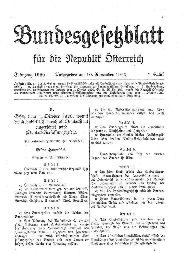 Bundesgesetzblatt (Austria)