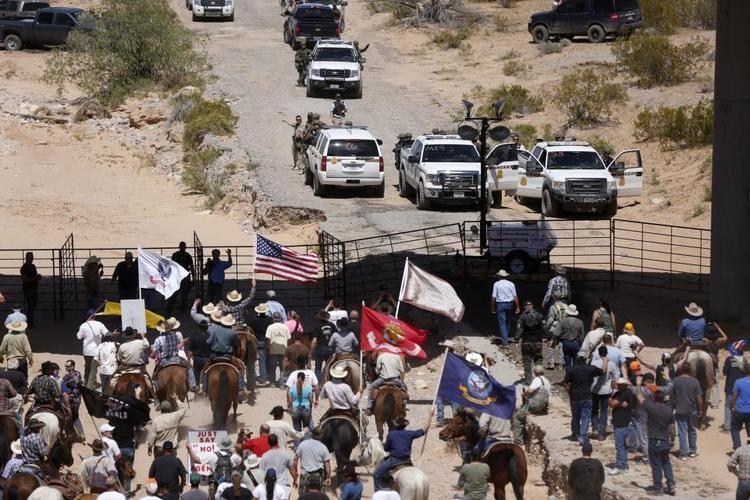 Bundy standoff US Officials End StandOff With Nevada Rancher Cliven Bundy