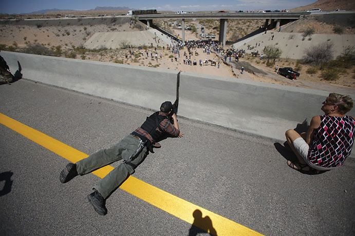 Bundy standoff War in the West The Bundy Ranch Standoff and the American Radical