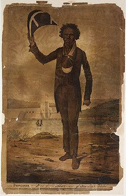 Bungaree 1826 Augustus Earl Lithograph of Bungaree Australias migration