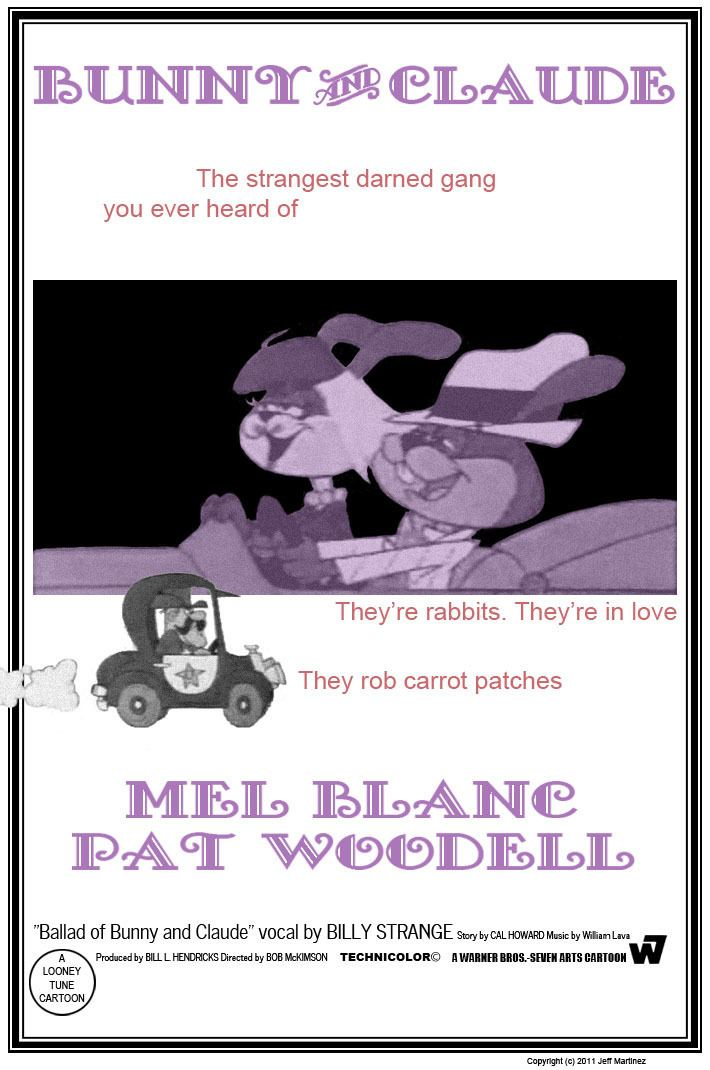 Bunny and Claude Bunny and Claude poster by JeffMartinez on DeviantArt