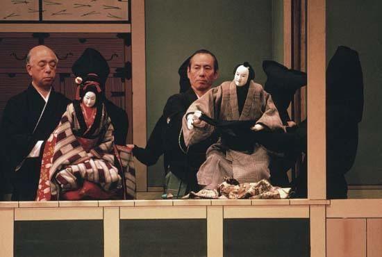 Bunraku Bunraku Japanese puppet theatre Britannicacom