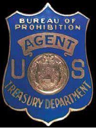 Bureau of Prohibition Prohibition agent39s badge prohibition traveling exhibit