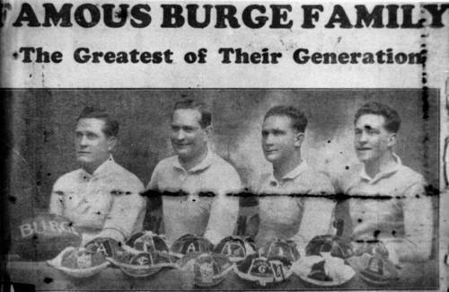 Burge family