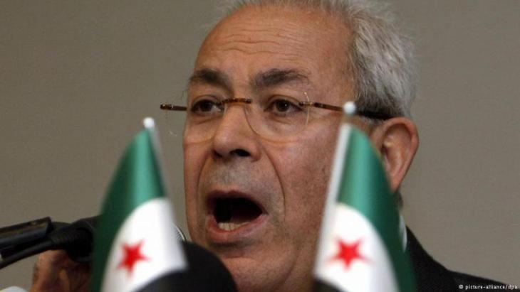 Burhan Ghalioun The Syrian conflict The illusion of a political solution Qantarade