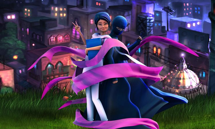Burka Avenger Crossing borders Burka Avenger goes to India Pakistan DAWNCOM