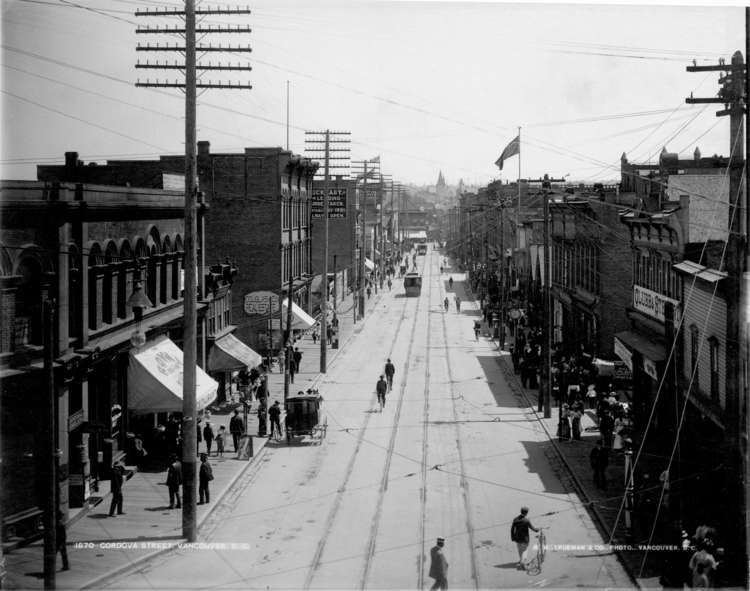 Burnaby in the past, History of Burnaby