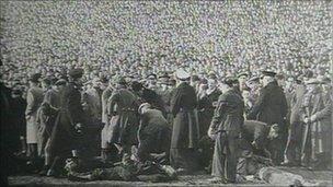 Burnden Park disaster Burnden Park football disaster remembered 65 years on BBC News