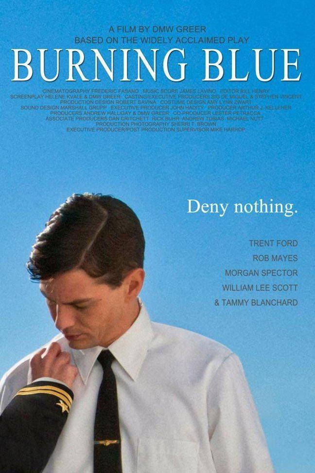 Burning Blue Burning Blue 2014 Poster 1 Trailer Addict