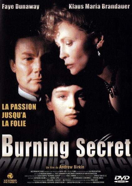 Burning Secret Burning Secret 1988 Andrew Birkin David Eberts Faye Dunaway