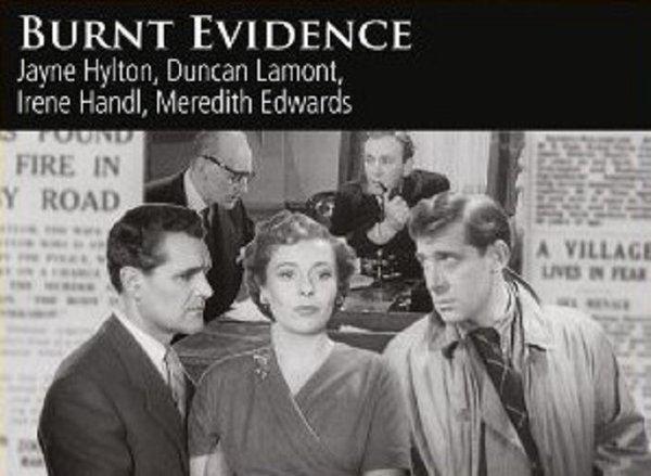 Burnt Evidence BURNT EVIDENCE 1954 wwwfilmjemscouk