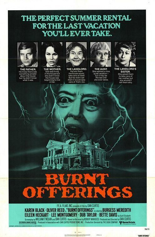 Burnt Offerings (film) Retro Shock Theater Burnt Offerings from Dark Shadows Dan Curtis