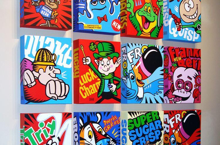 Burton Morris Icons Burton Morris Studios