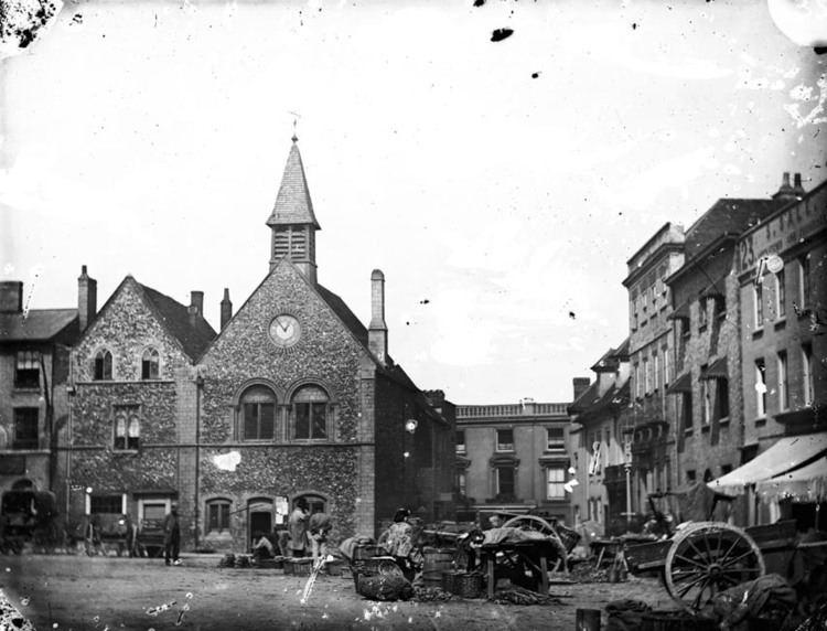 Bury in the past, History of Bury