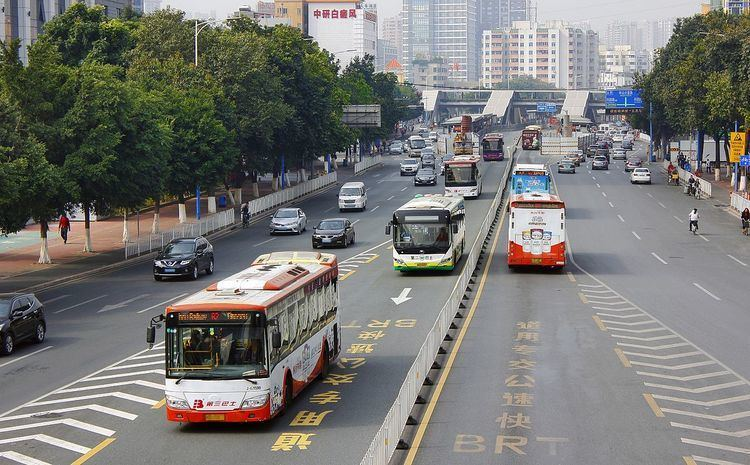 Bus rapid transit creep