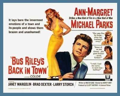 Bus Riley's Back in Town BUS RILEYS BACK IN TOWN DVD 1965 movie on DVD ANNMARGRET
