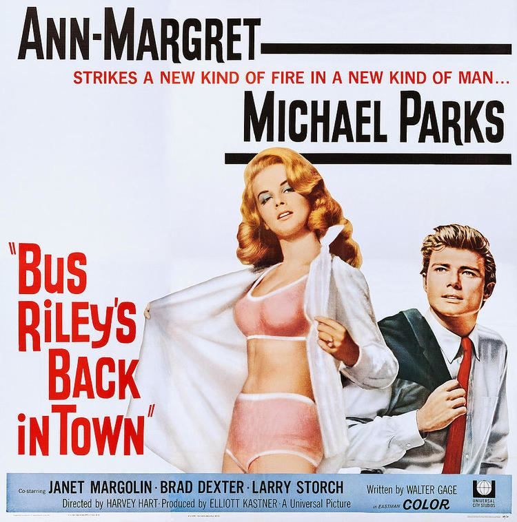 Bus Riley's Back in Town Bus Rileys Back In Town Us Poster Art Photograph by Everett