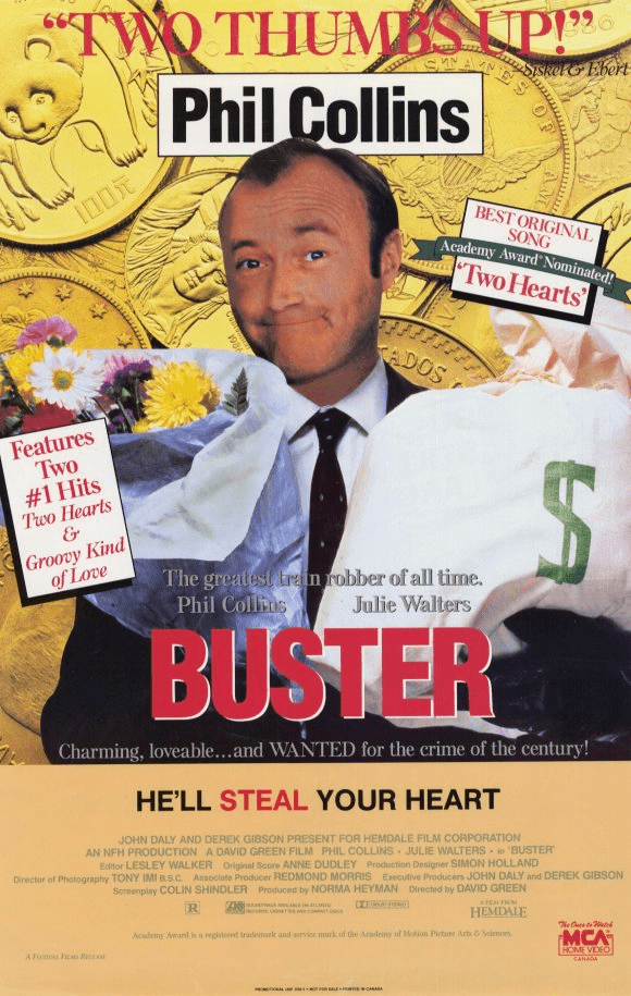 Buster (film) Six Stages of Hell The Stars Collection Part 6 Buster 1988