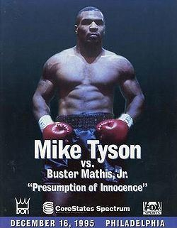 Buster Mathis Jr. Mike Tyson vs Buster Mathis Jr BoxRec
