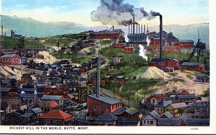 Butte, Montana in the past, History of Butte, Montana