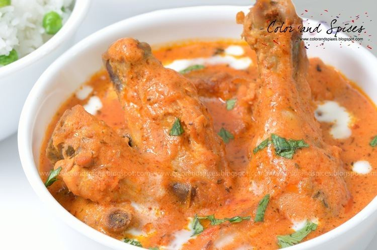 Butter chicken Color and Spices Butter Chicken