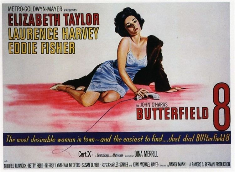 BUtterfield 8 BUtterfield 8 1960 The Hollywood Revue