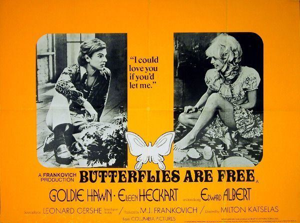 Butterflies Are Free Butterflies Are Free movie posters Fonts In Use