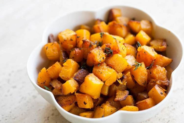 Butternut squash Butternut Squash with Browned Butter and Thyme Recipe