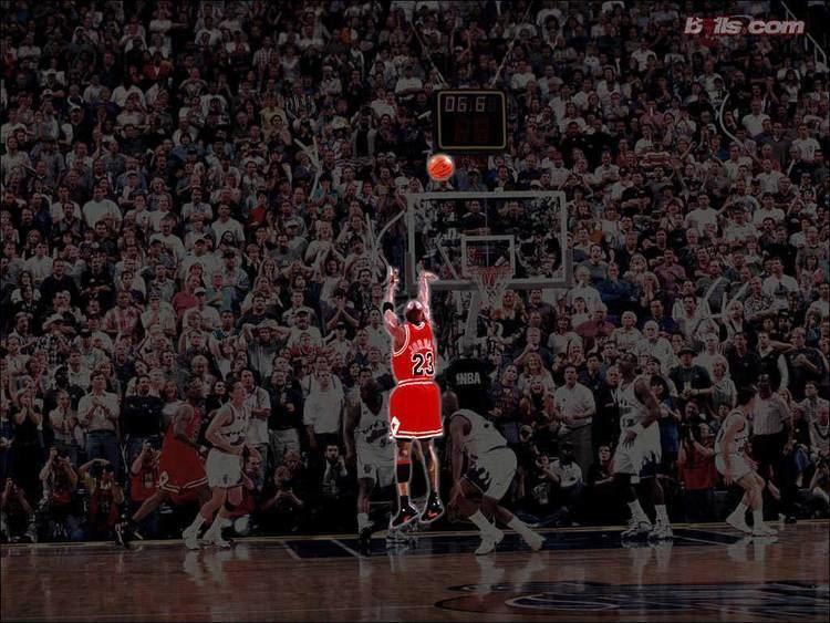 Buzzer beater Michael Jordan the buzzer beater Chicago Bulls Wallpaper