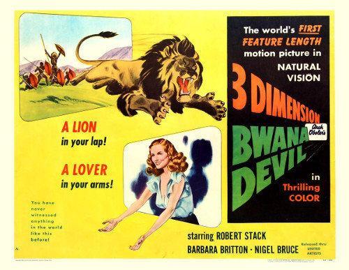 Bwana Devil Apocalypse Later Bwana Devil 1952