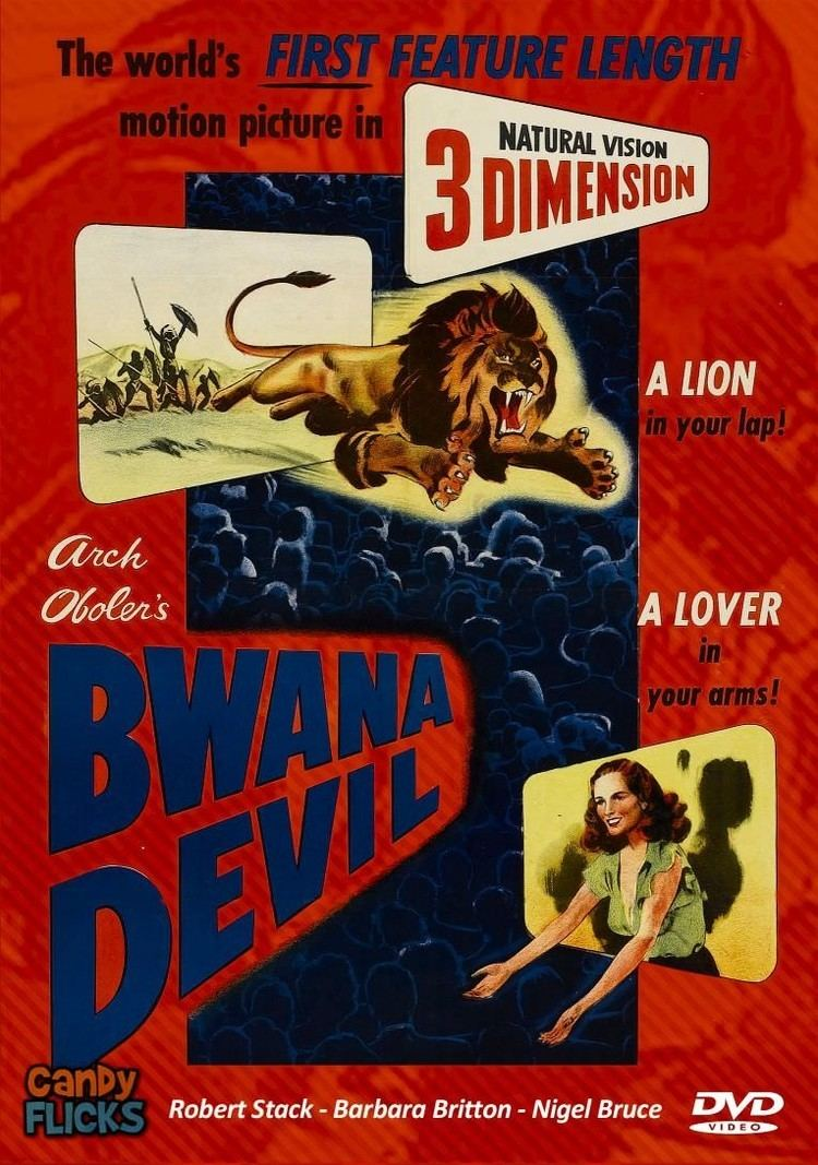Bwana Devil Bwana Devil 1952 DVD Twistedanger