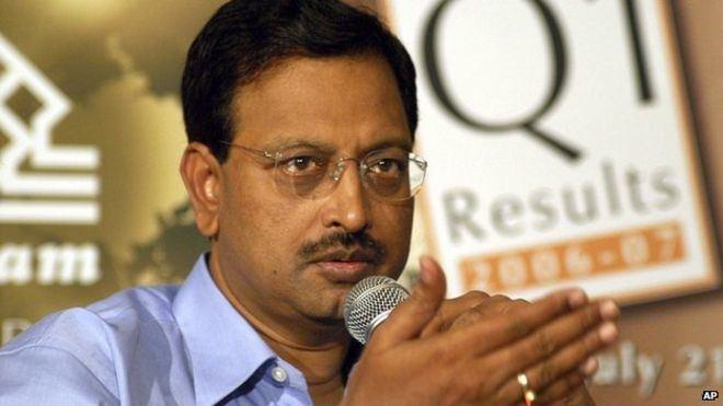 Byrraju Ramalinga Raju India Satyam Computers B Ramalinga Raju jailed for fraud BBC News