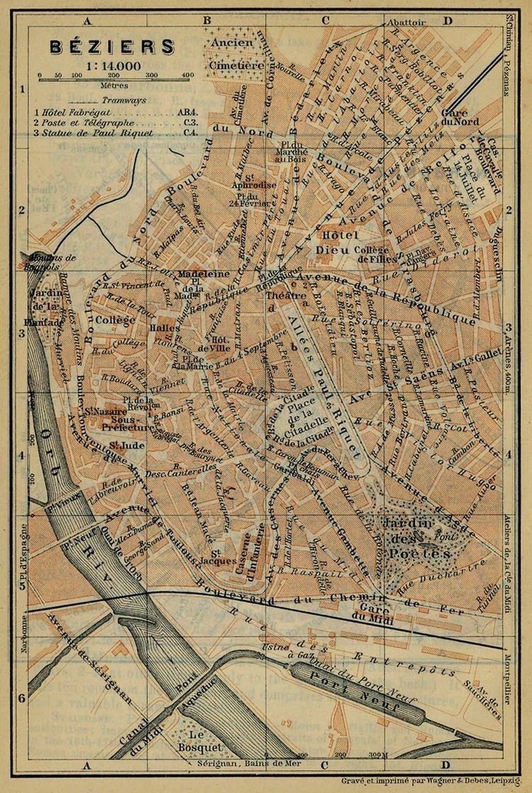 Beziers in the past, History of Beziers