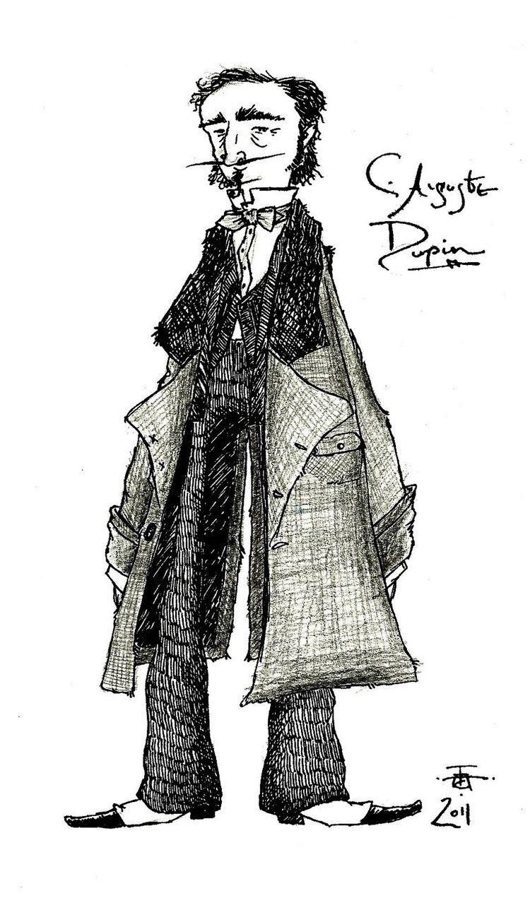 C. Auguste Dupin The Brandybard Scrivener The Detective Scribbles No 5 Chevalier