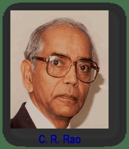 C. R. Rao scientistpage31