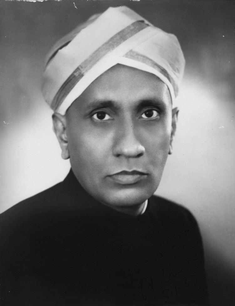 C. V. Raman Sir CV Raman a Life Dedicated to Science