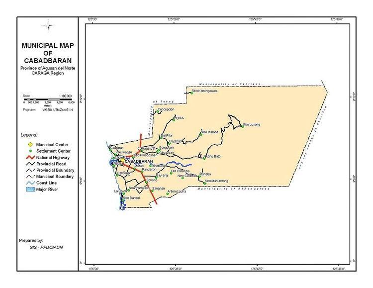 Cabadbaran in the past, History of Cabadbaran