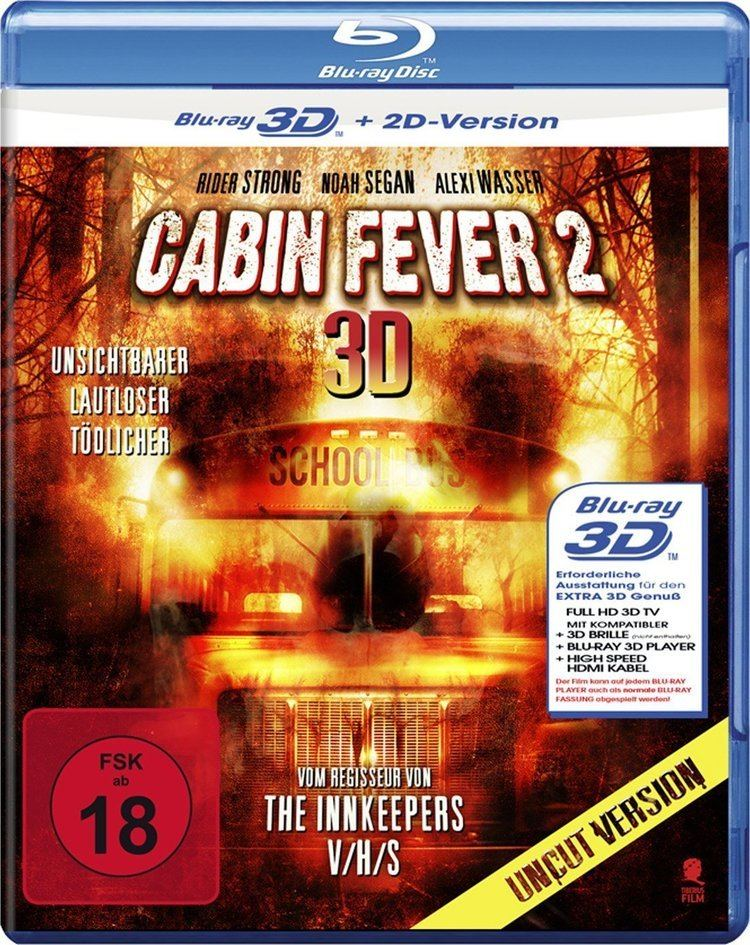 Cabin Fever 2: Spring Fever Cabin Fever 2 Spring Fever 3D Bluray Germany