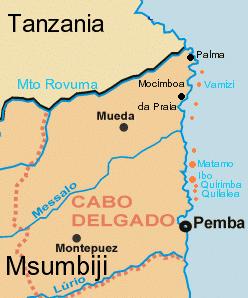 Cabo Delgado Province Wikipedia