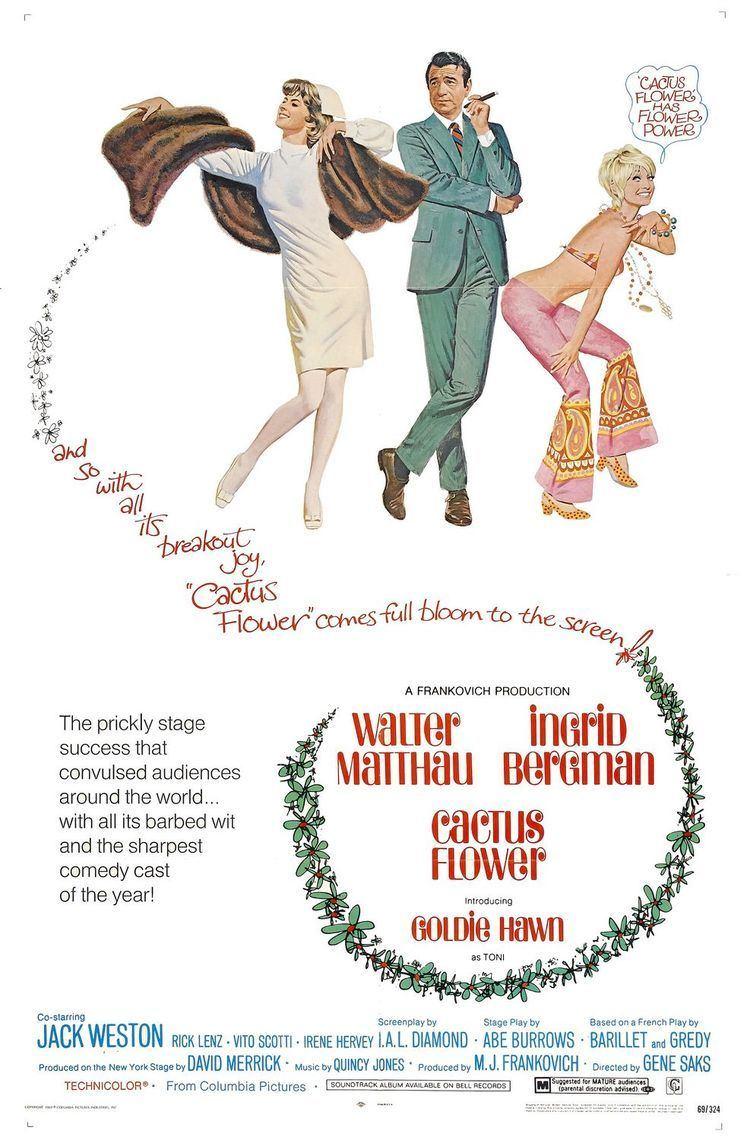 Cactus Flower (film) movie poster