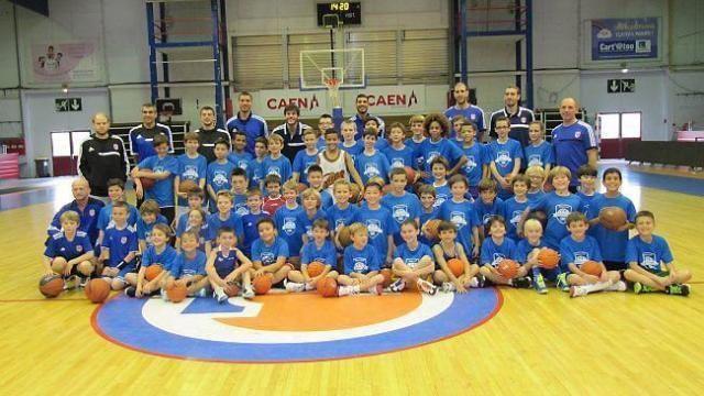 Caen Basket Calvados Un stage de basket jeunes au CaenbasketCalvados