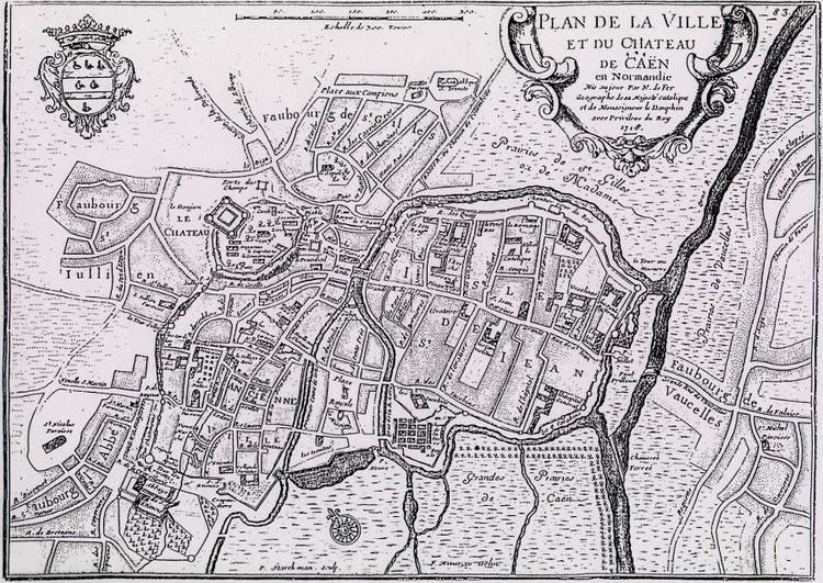 Caen in the past, History of Caen