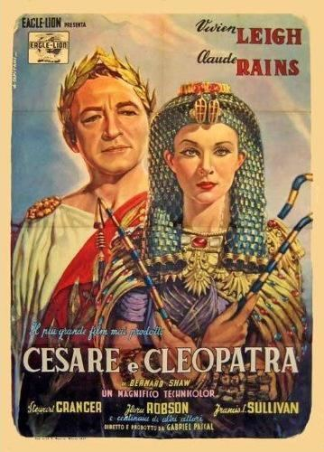 Caesar and Cleopatra (film) Caesar and Cleopatra 1945 Born to Rule Nitrate Diva
