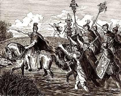 Caesar's Civil War January 10th Julius Caesar Makes His Historic Illegal Crossing of