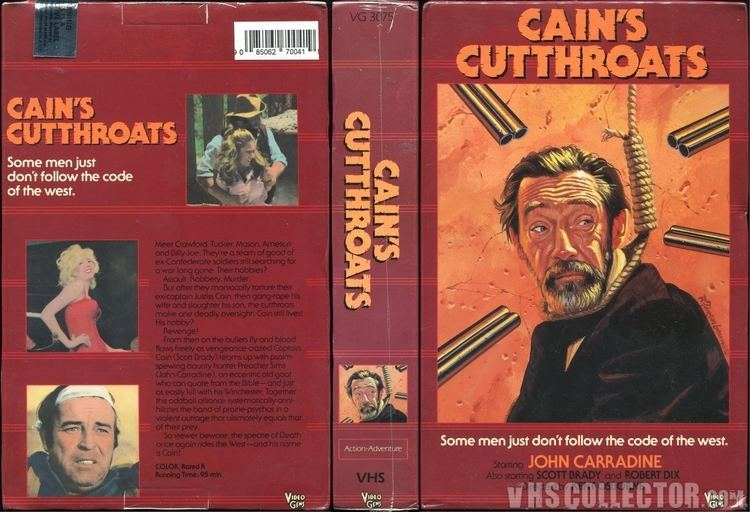 Cain's Cutthroats Cains Cutthroats VHSCollectorcom Your Analog Videotape Archive