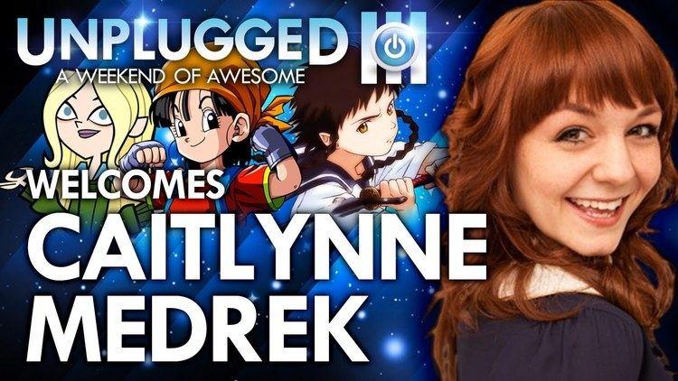 Caitlynne Medrek Unplugged Expo Welcomes Caitlynne Medrek voice of Pan DragonBall