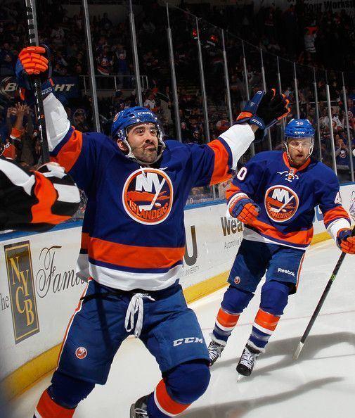 Cal Clutterbuck Cal Clutterbuck in New York Rangers v New York Islanders Hockey