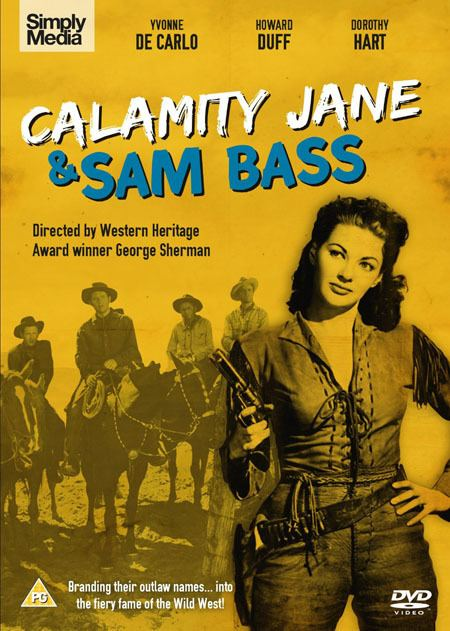 Calamity Jane and Sam Bass HOWARD HUGHES REVIEWS CATTLE DRIVE CALAMITY JANE SAM BASS AND