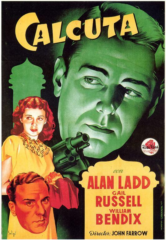 Calcutta (1947 film) CALCUTTA 1947 RARE CRIME FILM ON DVD UNCUT for sale