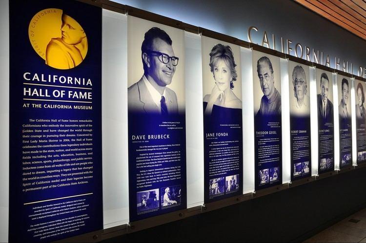 California Hall of Fame The California Museum California Hall of Fame West Office